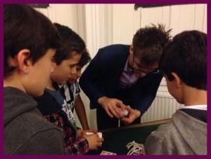 Abra Ca David Teaching workshop magic cards